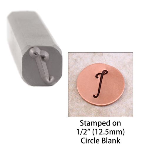 "Metal Stamping Tools Script Individual Letter ""I""  8mm"