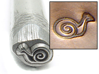Metal Stamping Tools Snail Design Stamp