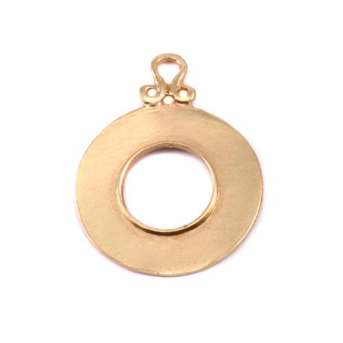 Dregs Brass Washer with Inner Edge