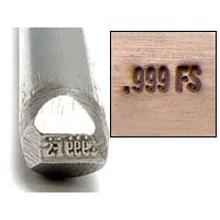 Metal Stamping Tools .999FS Design Stamp