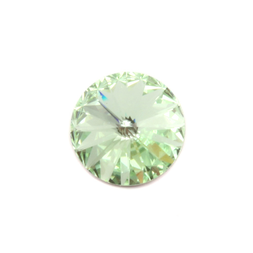 Crystals & Beads Swarovski Crystal Rivoli - Chrysolite 14mm Limited Edition