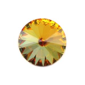 Crystals & Beads Swarovski Crystal Rivoli - Sahara 18mm