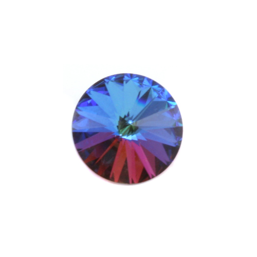 Crystals & Beads Swarovski Crystal Rivoli - Bermuda Blue 14mm