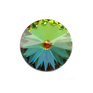 Crystals & Beads Swarovski Crystal Rivoli - Medium Vitrail 18mm