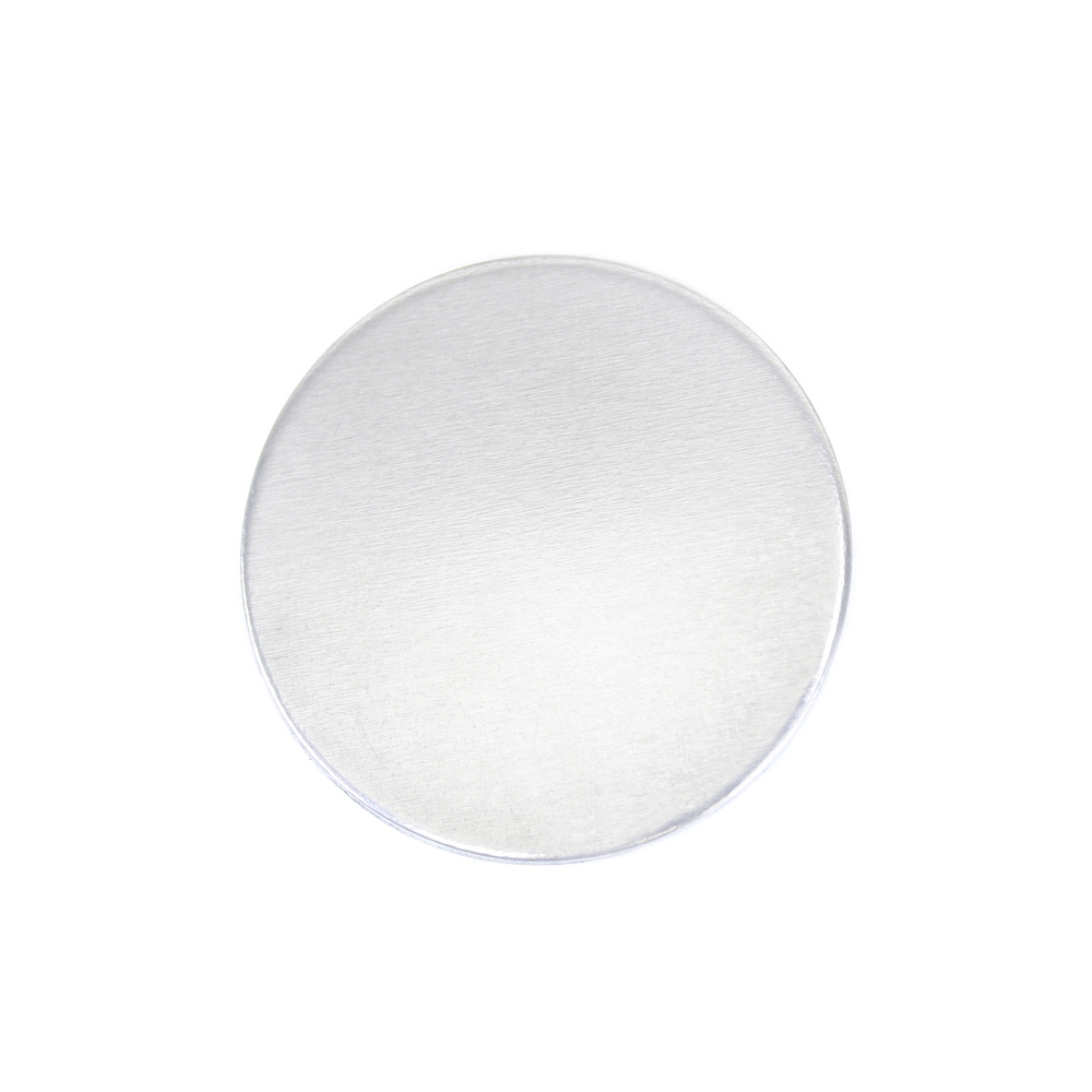 "Metal Stamping Blanks Aluminum Round, Disc, Circle, 22mm (.87""), 18g, Pack of 5"