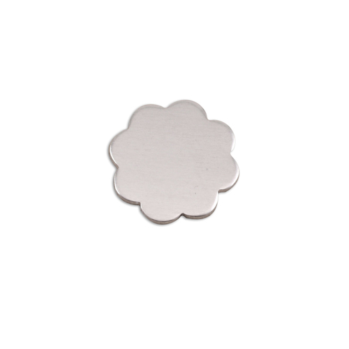 Metal Stamping Blanks Aluminum Small 8 Petal Flower, 18g