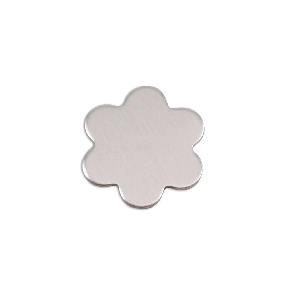 Metal Stamping Blanks Aluminum Small 6 Petal Flower, 18g