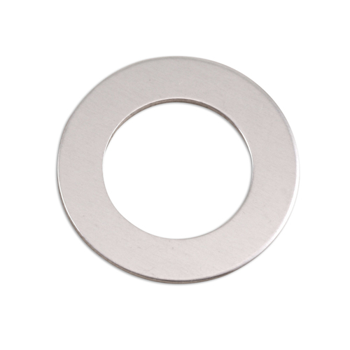 "Metal Stamping Blanks Aluminum 1"" Washer, 5/8"" ID, 18g"
