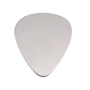 "Metal Stamping Blanks Aluminum ""Guitar Pick"" Blank, 18g"