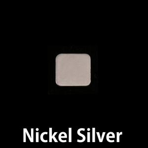 Metal Stamping Blanks Nickel Tiny Rounded Square, 24g