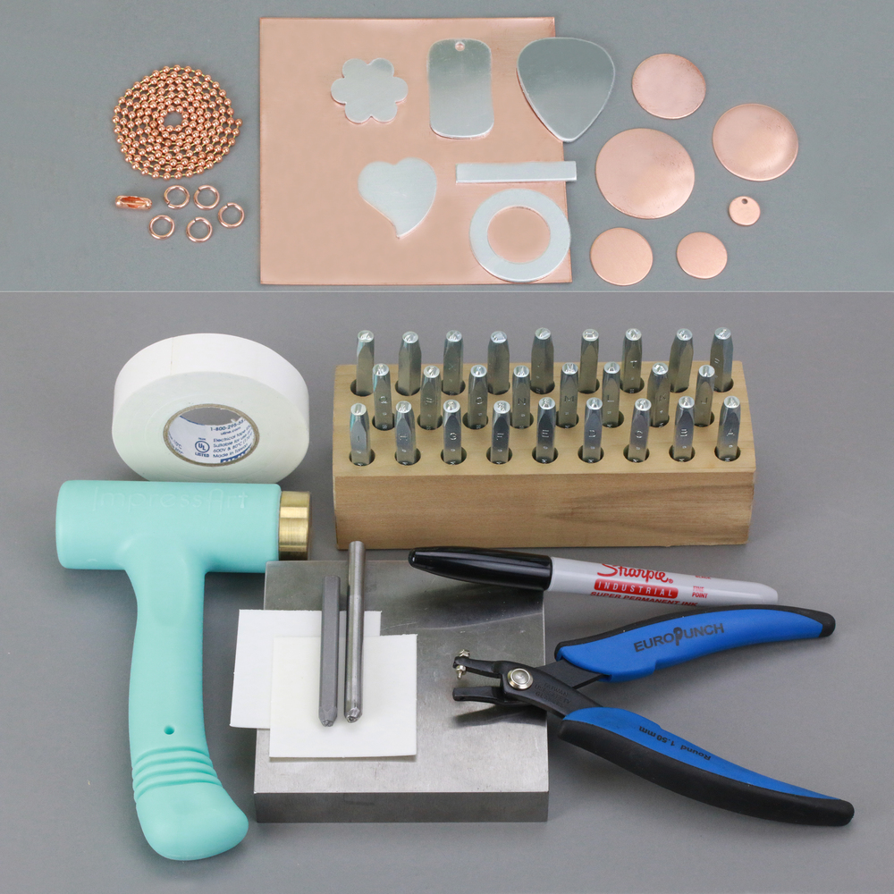 Luxury Stamping on Metal Starter Kit