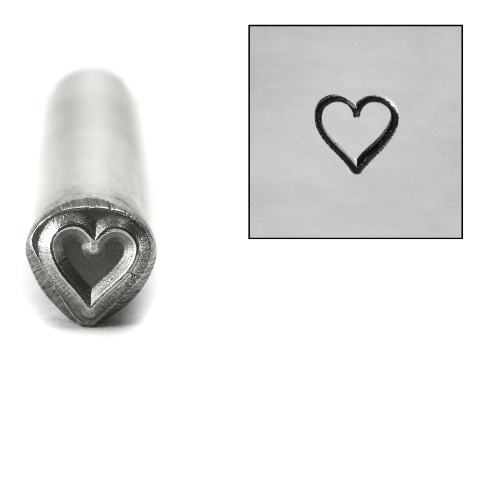 Metal Stamping Tools Heart Metal Design Stamp, 5mm
