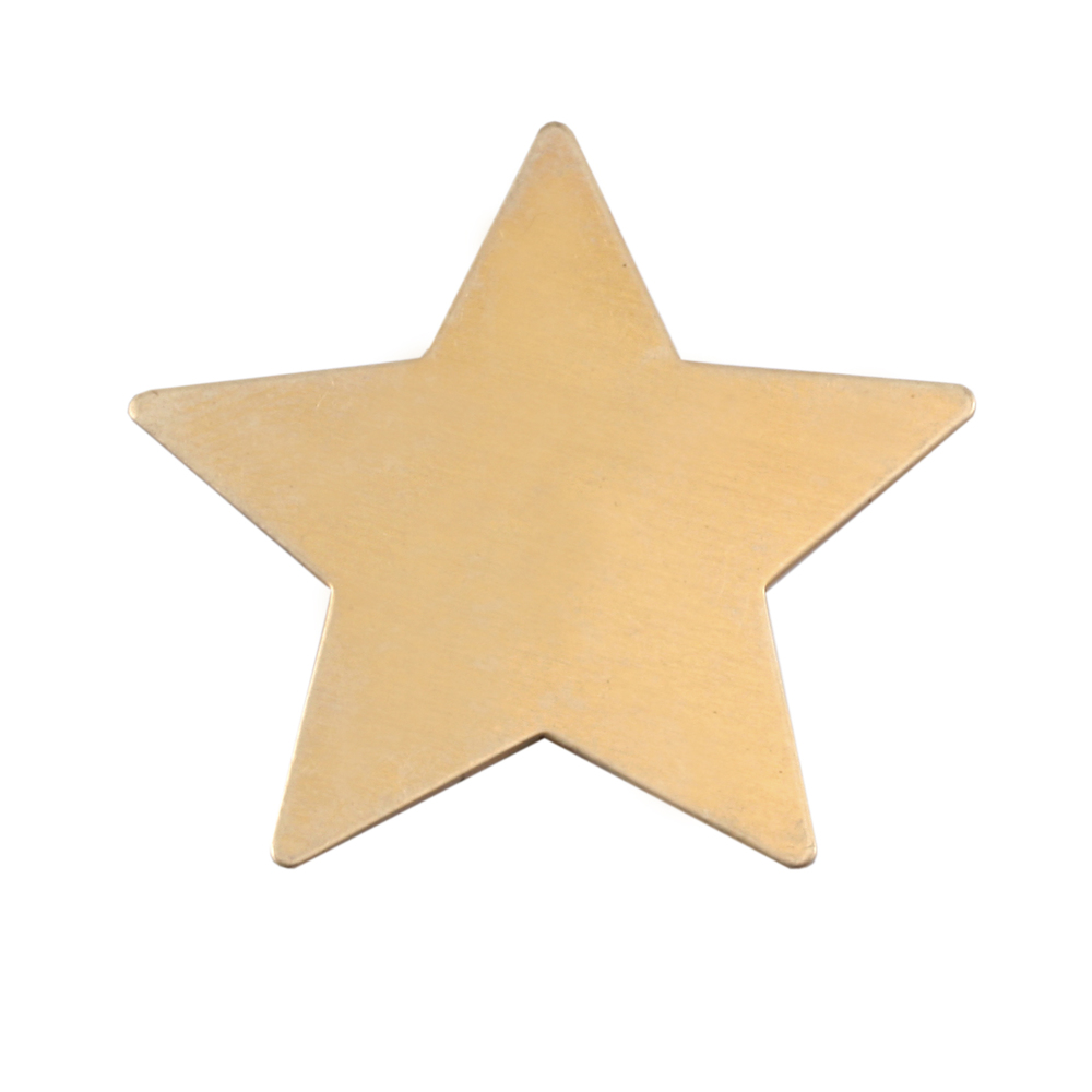 Metal Stamping Blanks Brass Large Star Blank, 24g
