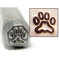Metal Stamping Tools Paw Design Stamp 4mm