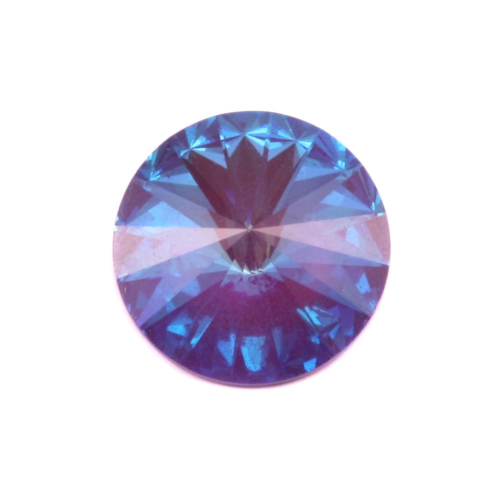Crystals & Beads Swarovski Crystal Rivoli - Ultra Purple AB 18mm