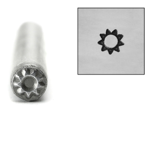 Metal Stamping Tools Sprocket Sun Metal Design Stamp, 5mm