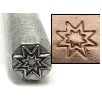 Metal Stamping Tools Sunburst Design Stamp