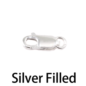 Chain & Clasps Silver Filled 11.5mm Lobster Clasp