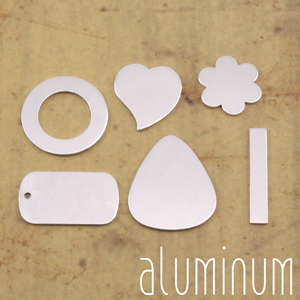 Metal Stamping Blanks Aluminum Popular Blanks Sample Pack