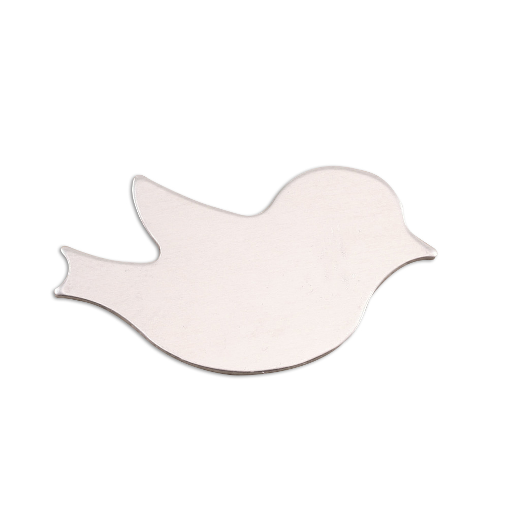 "Metal Stamping Blanks Aluminum Winged Bird Blank, 33mm (1.30"") x 21mm (.83""), 18g, Pack of 5"