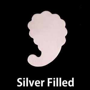 Closeout Silver Filled Paisley, 24g