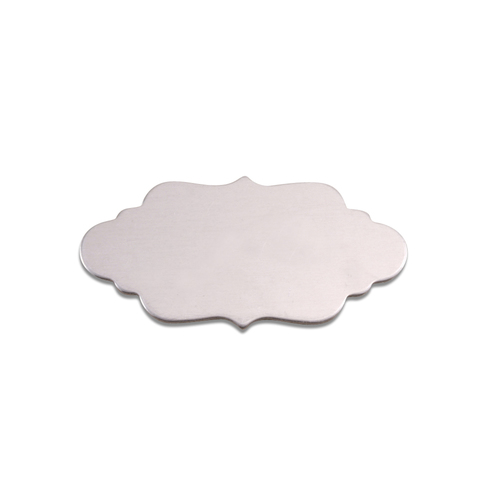 Dregs Aluminum Small Elegant Plaque, 18g
