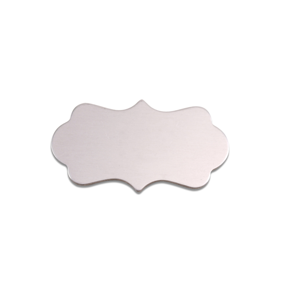Metal Stamping Blanks Aluminum Small Mod Plaque, 18g