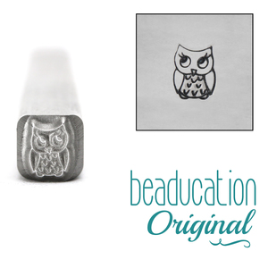 Metal Stamping Tools Baby Owl Metal Design Stamp- Beaducation Original