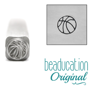 Metal Stamping Tools Basketball Metal Design Stamp - Beaducation Original