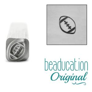 Metal Stamping Tools Football Metal Design Stamp - Beaducation Original