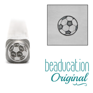 Metal Stamping Tools Soccer Ball Metal Design Stamp - Beaducation Original