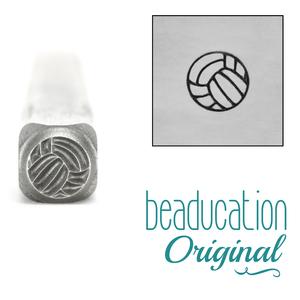 Metal Stamping Tools Volleyball Metal Design Stamp - Beaducation Original