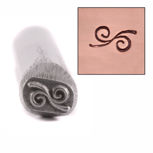 Metal Stamping Tools Swirl Design Stamp