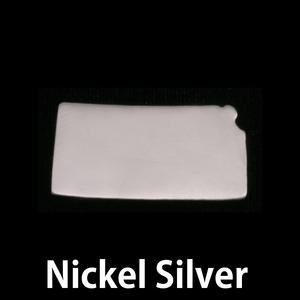 Metal Stamping Blanks Nickel Silver Kansas State Blank, 24g