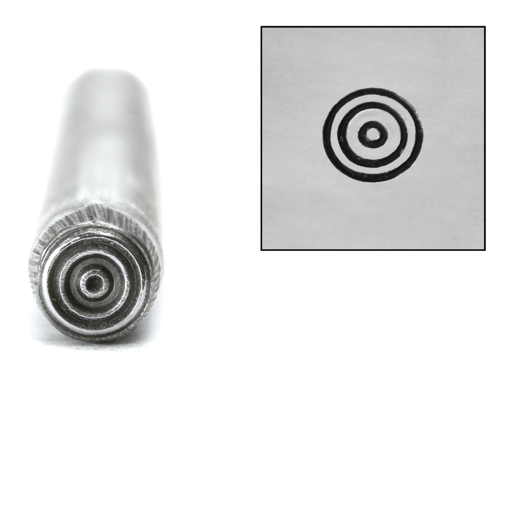 Metal Stamping Tools Bullseye Metal Design Stamp, 5mm