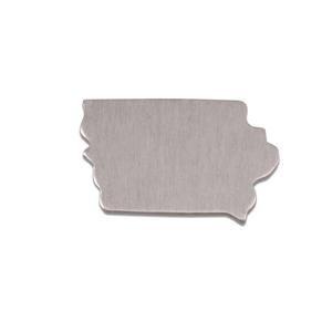 Metal Stamping Blanks Aluminum Iowa State Blank, 18g