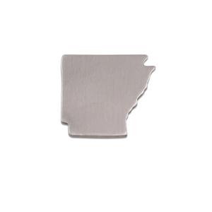 Metal Stamping Blanks Aluminum Arkansas State Blank, 18g