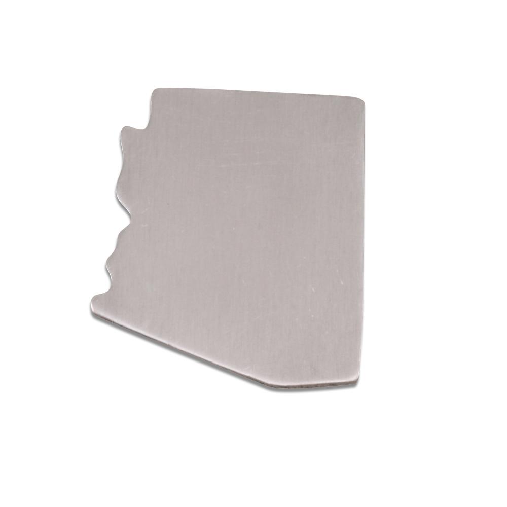 Metal Stamping Blanks Aluminum Arizona State Blank, 18g