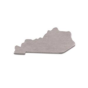 Metal Stamping Blanks Aluminum Kentucky State Blank, 18g