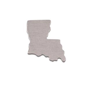 Metal Stamping Blanks Aluminum Louisiana State Blank, 18g