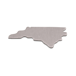 Metal Stamping Blanks Aluminum North Carolina State Blank, 18g