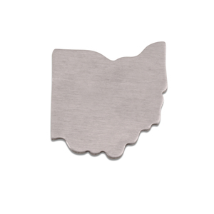 Metal Stamping Blanks Aluminum Ohio State Blank, 18g