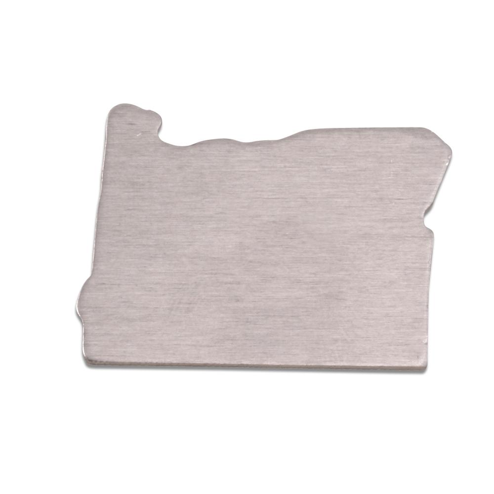 Metal Stamping Blanks Aluminum Oregon State Blank, 18g