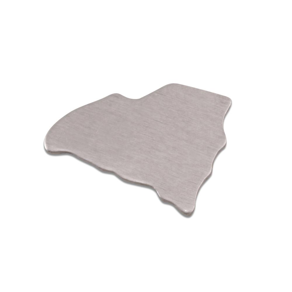 Metal Stamping Blanks Aluminum South Carolina State Blank, 18g