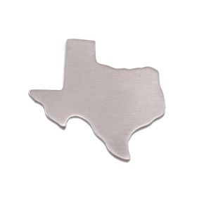 Metal Stamping Blanks Aluminum Texas State Blank, 18g