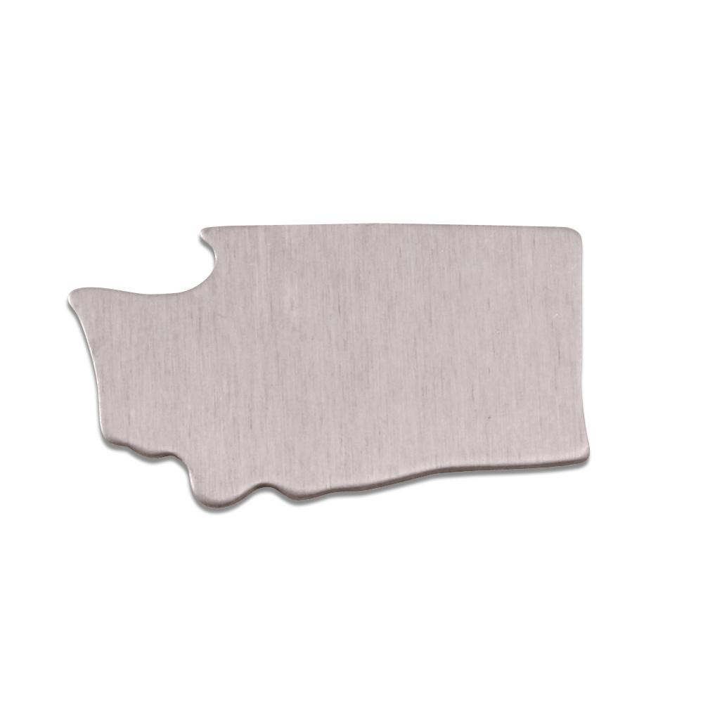 Metal Stamping Blanks Aluminum Washington State Blank, 18g