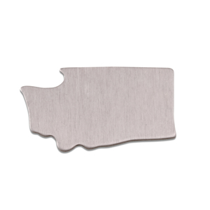 Metal Stamping Blanks Aluminum Washington State Blank, 18g