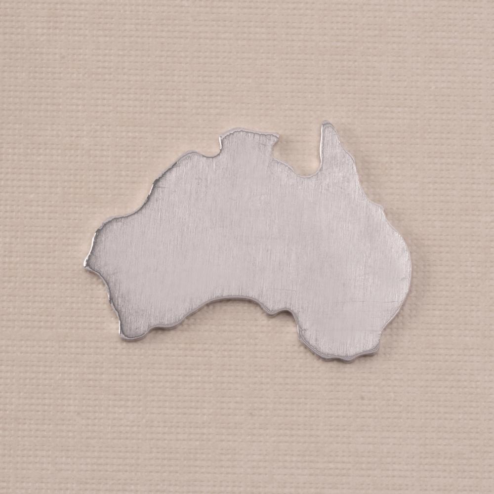 Metal Stamping Blanks Aluminum Australia Blank, 18g