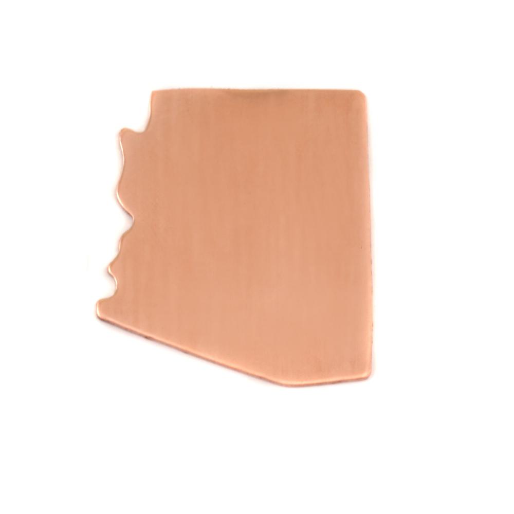 Metal Stamping Blanks Copper Arizona State Blank, 24g