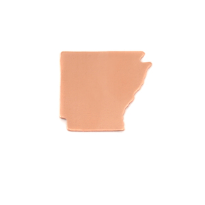 Metal Stamping Blanks Copper Arkansas State Blank, 24g
